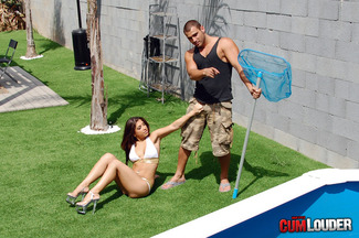 Carla Cruz ansiosa por que Juan-Z rellene su coñito húmedo, foto 2