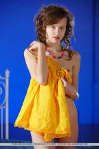 Delgada jovencita Kitana A Demida posando desnuda, foto 4
