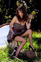 Impresionante Malena Morgan, foto 1
