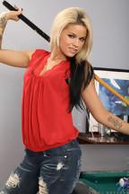 Jessa Rhodes haciéndose un dedo, foto 2