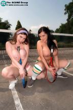 Fotos con las pechugonas Mandy Pearl y Karina Hart posando desnudas, foto 8