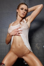 Sexi Randy Moore Miss camiseta mojada, foto 3