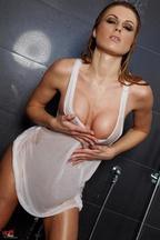 Sexi Randy Moore Miss camiseta mojada, foto 5