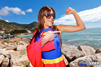 Supergirl Fayna Vergara en un anal con Moisex, foto 4