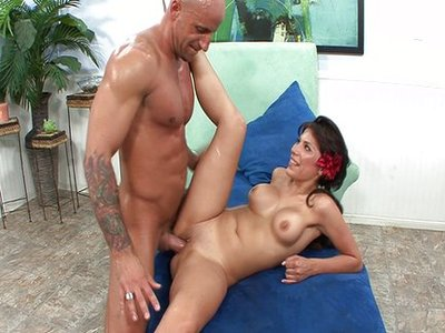 Alexa Nicole y Barry Scott