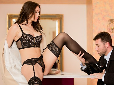 Lana Rhoades y James Deen