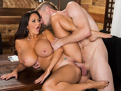 Ava Addams y Bill Bailey