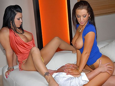 Eva Angelina y Jayden James y Josh