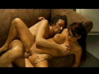 Eva Angelina y Steve Holmes