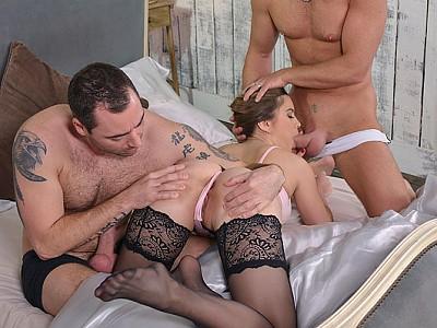 Evelina Darling,Ricky Mancini y Chad
