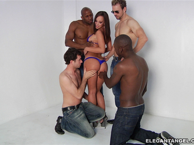 Jada Stevens,Prince Yahshua,James Deen,Erik Everhard,Mr. Pete,John Strong y Jon Jon