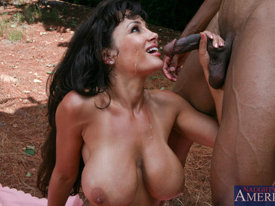 Lisa Ann y C.J. Wright