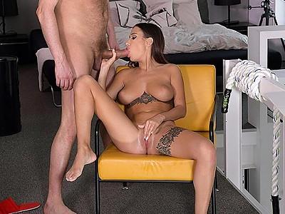 Liya Silver y Ian Scott