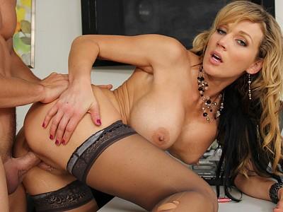 Nikki Sexx y Johnny Castle