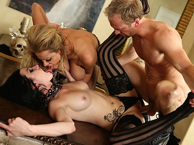 Veruca James y Kelly Madison y Ryan Madison