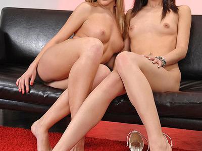Betty Sinovia y Abby Byens