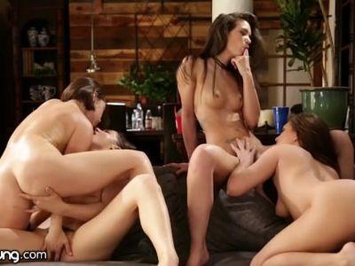 Gia Paige, Jenna Sativa, Jojo Kiss y Kasey Warner